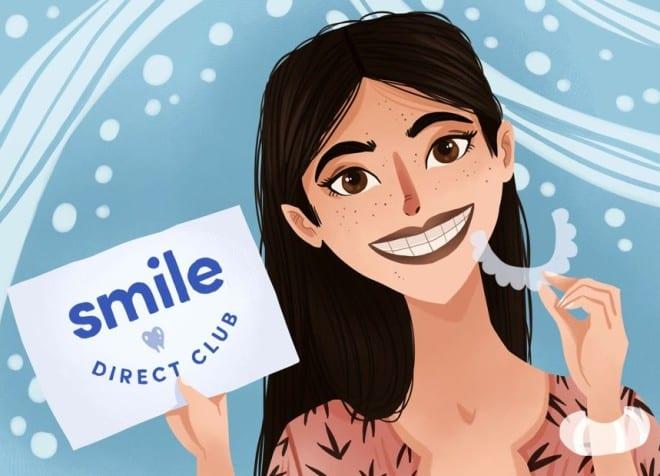 SmileDirectClub Advert